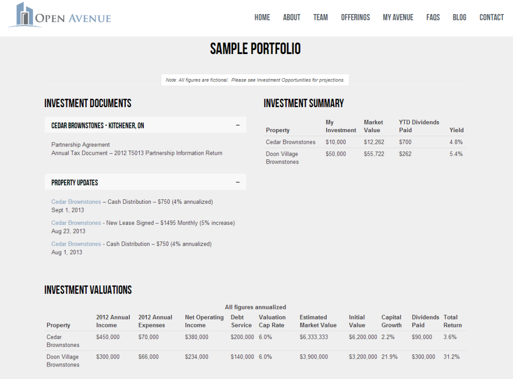 Investor Management Dashboard